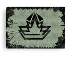 Elite Star Crown Canvas Print