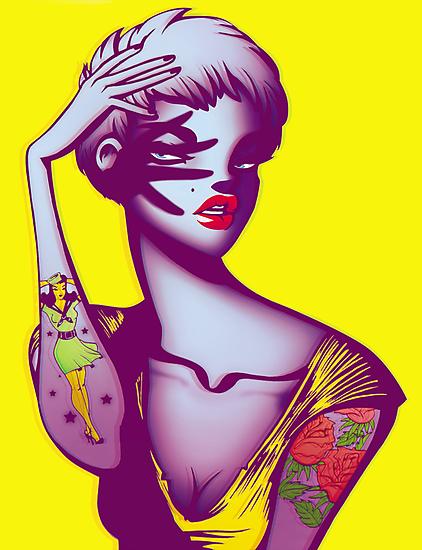 Tattoo Girl by ricardojurado