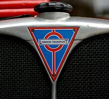 Vintage London Bus Grill by wraysburyade