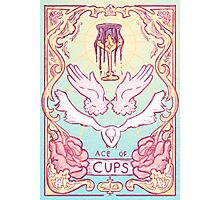 Ace of Cups Photographic Print