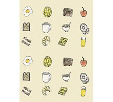 Brilliant Breakfast Photographic Print
