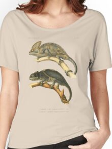 Chameleon Scientific Illustration Women's Relaxed Fit T-Shirt
