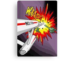 Lichtenstein Star Trek - Whaam! Canvas Print