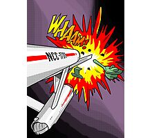 Lichtenstein Star Trek - Whaam! Photographic Print