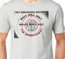 Self Endangered Species Unisex T-Shirt