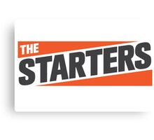 The Starters Logo Canvas Print