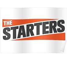 The Starters Logo Poster