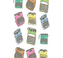 Technicolor Typewriters by irenelam