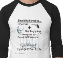 Simple Mathematics Men's Baseball ¾ T-Shirt