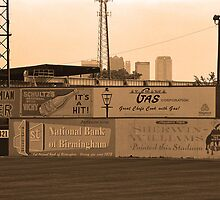 Old Time Baseball Field by Frank Romeo
