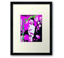 Marilyn in Rose Framed Print