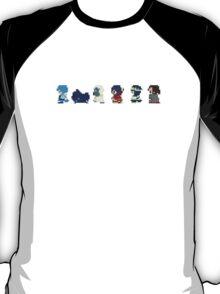 Dramatical Murder Title Sprites T-Shirt