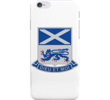 156th Infantry Regiment - Dieu Et Moi - God And I iPhone Case/Skin