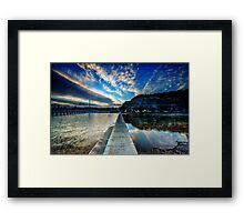 Lucidity - Narrabeen Beach Framed Print