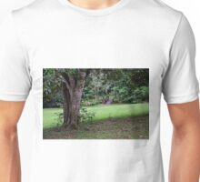 The Tree the Bridge and the Picnic Table Unisex T-Shirt
