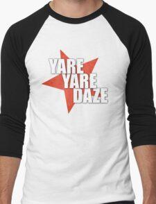 JJBA - Yare Yare Daze Men's Baseball ¾ T-Shirt