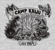 Camp Kaiju Kids Tee