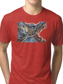 ©DA Dragon IIAGP Tri-blend T-Shirt