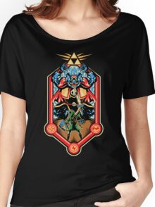 Epic Triforce of the Gods Women's Relaxed Fit T-Shirt