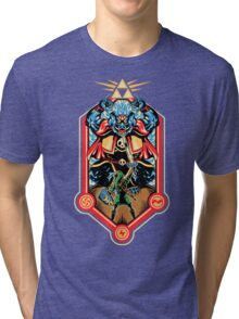 Epic Triforce of the Gods Tri-blend T-Shirt