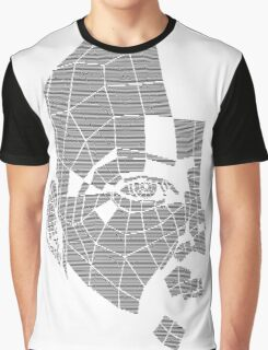Fragmented_black Graphic T-Shirt