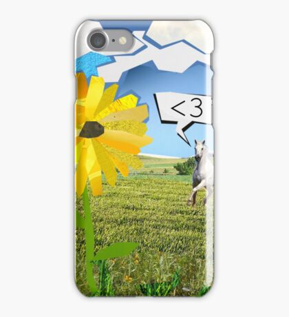 less than 3. iPhone Case/Skin