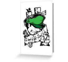 Player 2 - Tough Little Brother Greeting Card