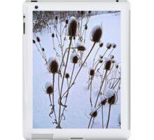 winter burdock iPad Case/Skin