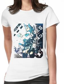 Zombie Hunter Girl Womens Fitted T-Shirt