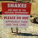 Venomous Sign - Take Notice by EdsMum
