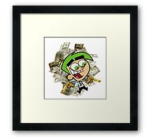 Cosmo - Fairly Odd Parents Framed Print