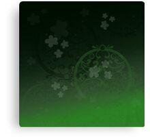 Lucky Green Canvas Print