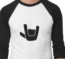 Rock On Men's Baseball ¾ T-Shirt