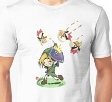 The legend of angry chicken Unisex T-Shirt