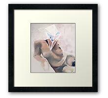 Vizor Framed Print