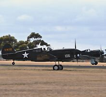 Kittyhawk & Boomerang, Point Cook Airshow, Australia 2014 by muz2142