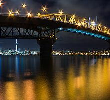 Auckland City Panorama by mackphotography