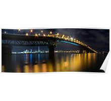 Auckland City Panorama Poster