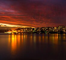 Twilight Phenomenon in Parramatta - Parramatta River by gerryligon