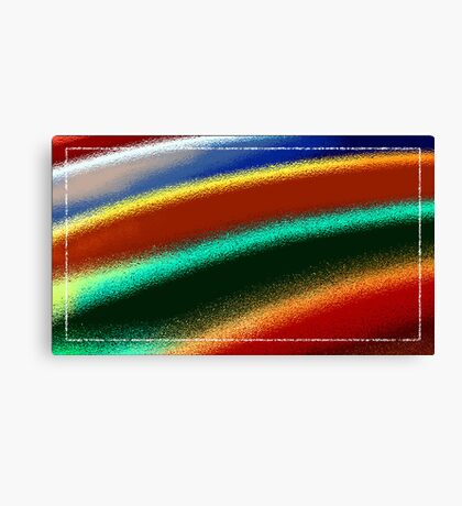 Surfboard ripple Canvas Print