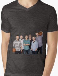 The whole crew Mens V-Neck T-Shirt