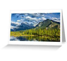 Vermillion Lakes Greeting Card