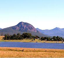 Mt Greville, Queensland, Australia  by Margaret  Hyde