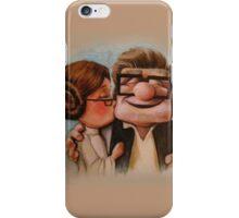 Carl and ellie up kiss  iPhone Case/Skin