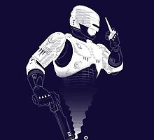 Robocop iPhone Case by AlainB68
