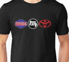 Toyota Logos - first to last Unisex T-Shirt