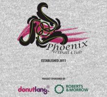 Phoenix Netball Club - sponsor's 2014 by Netball