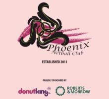 Phoenix Netball Club - sponsor's 2014 Kids Tee