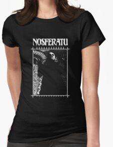 Masquerade Clan: Nosferatu Retro Womens Fitted T-Shirt