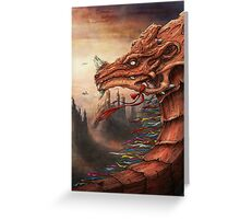 tibet dragon Greeting Card